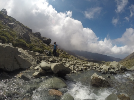 A sulphuric stream